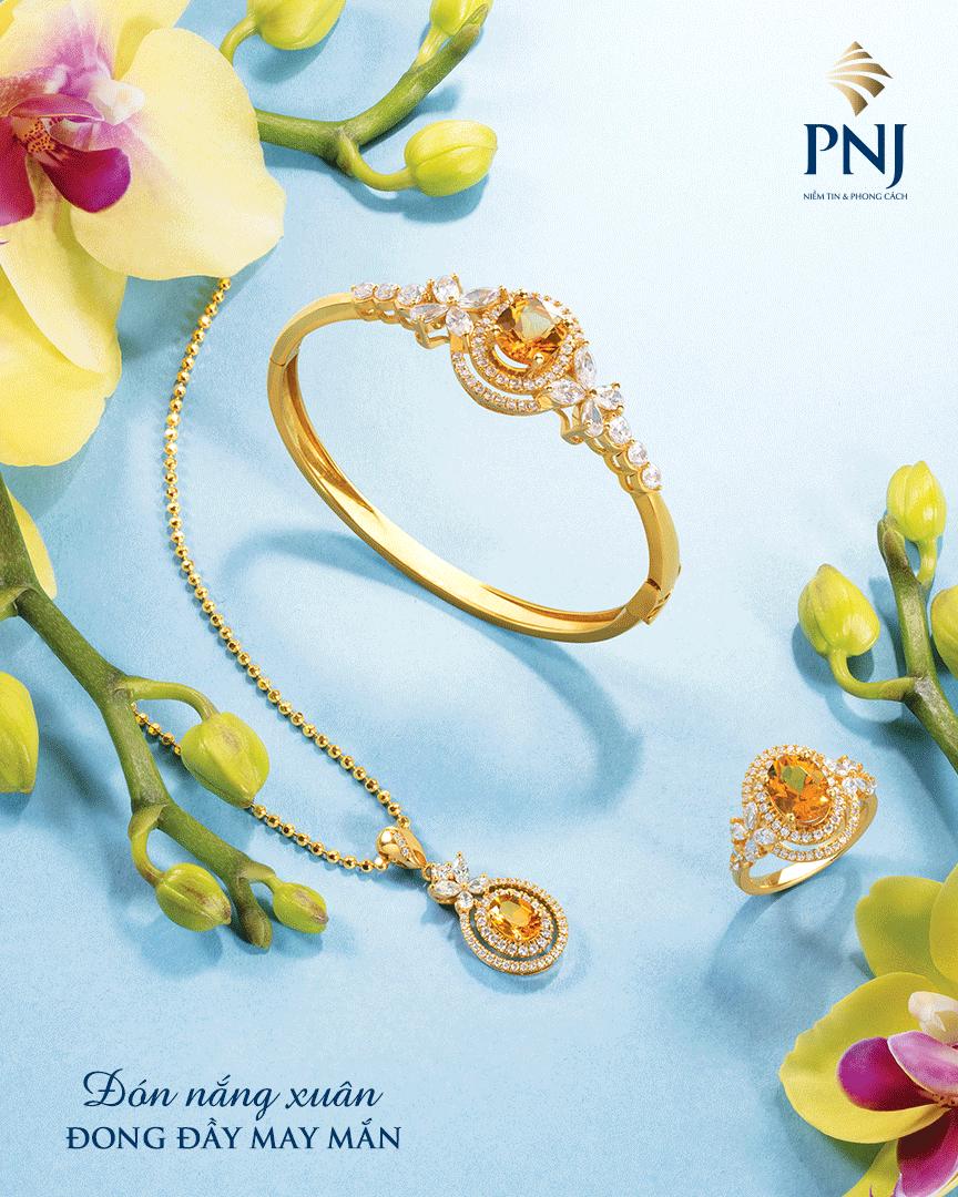 Vàng Tây là vàng thường được sử dụng trong chế tác trang sức.