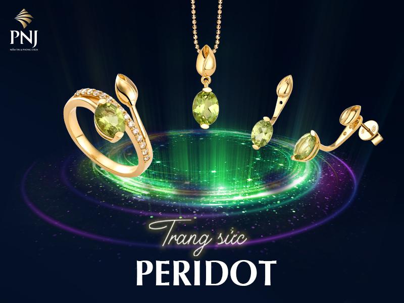 Đá Peridot là gì? Ý nghĩa phong thủy của đá Peridot – PNJ Blog