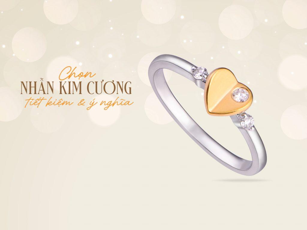 Nhan kim cuong nen chon chat lieu nao de vua y nghia vua tiet kiem