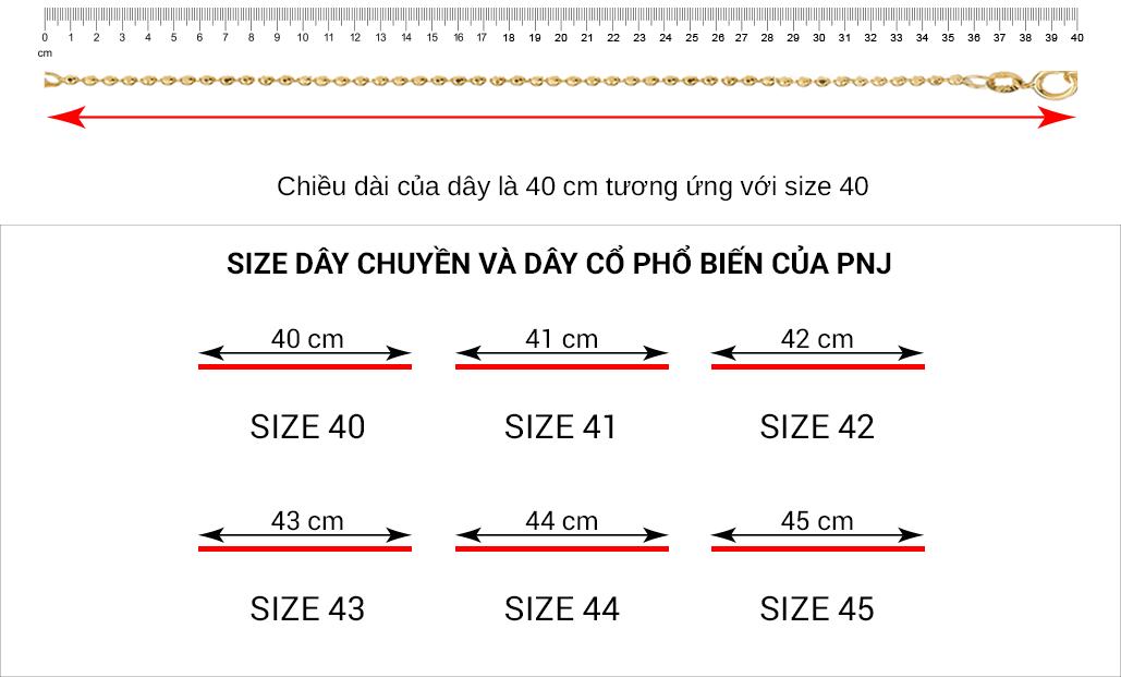 Hướng dẫn đo size trang sức